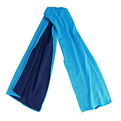 Cooling Towel, AK Super Absorbent Snap Cooling Towels for Sports and Fitness