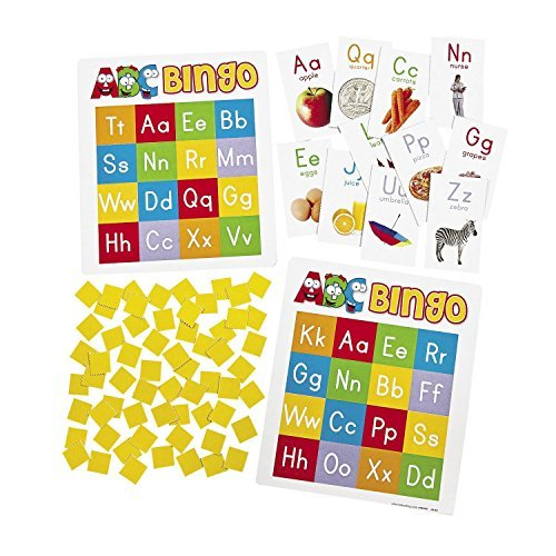 Jeu de Bingo papier ABC