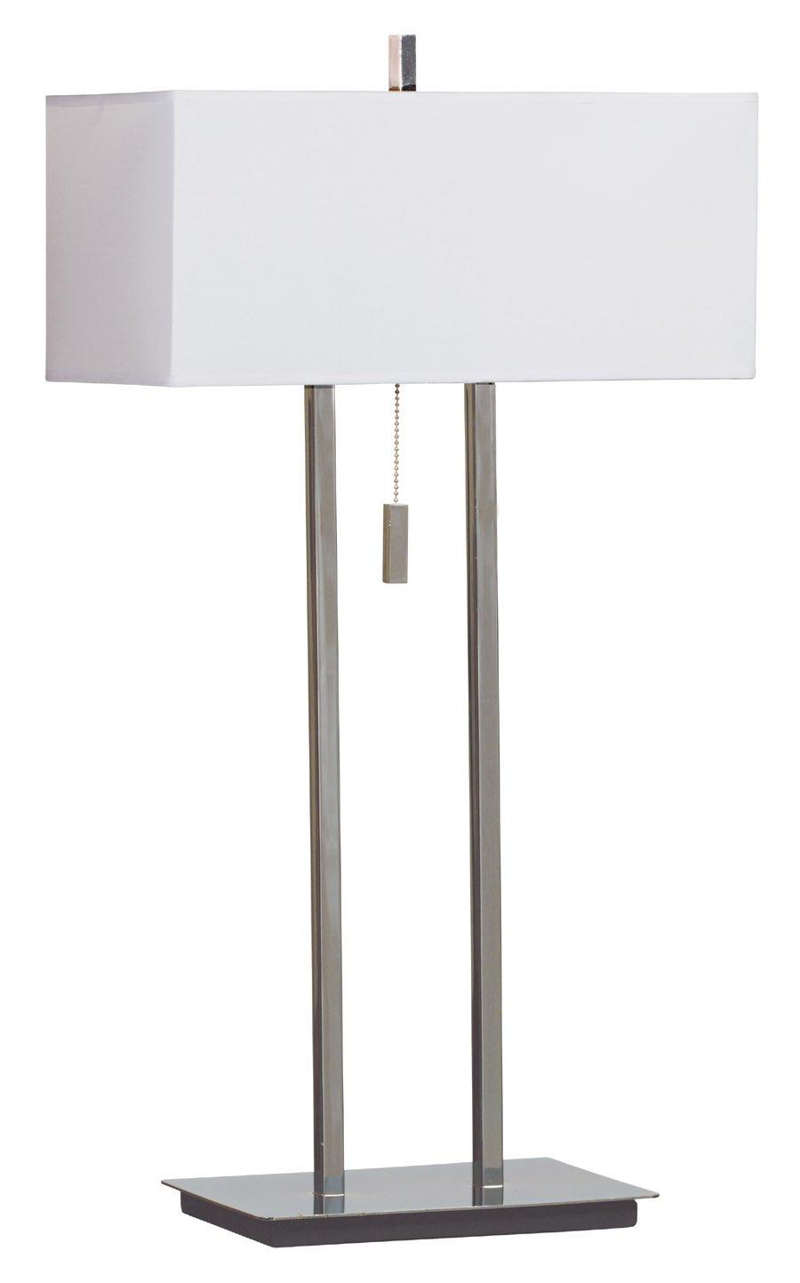 Kenroy Home 30816CH Emilio Table Lamp, Chrome   Kenroy Desk Lamp    Amazon.com