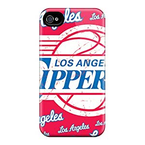 AnnaDubois Iphone 6 High Quality Hard Cell-phone Case Custom Trendy Los Angeles Clippers Pictures [XLO2259twwK]