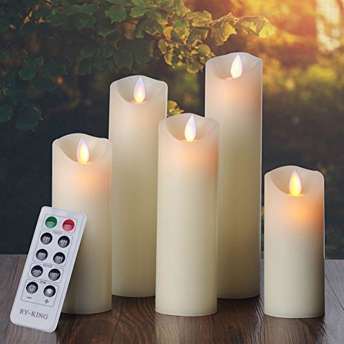 Ry king Flameless Candles Classic Dancing