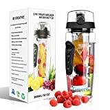 Best Infuser Water Bottles - 32 oz Fruit Infuser Water Bottle - BPA-Free Review