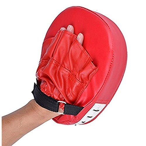 - Boxing Mitt Training Target Focus Punch Pad Glove MMA Karate Muay Kick Kit