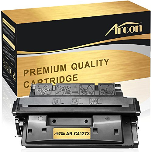 Arcon 1 Pack Compatible for HP 27A C4127A HP 27X C4127X Toner Cartridge for HP LaserJet 4050, HP LaserJet 4050N Toner, HP LaserJet 4000N Toner, HP LaserJet 4050TN 4050 4050N (4050n Laser)