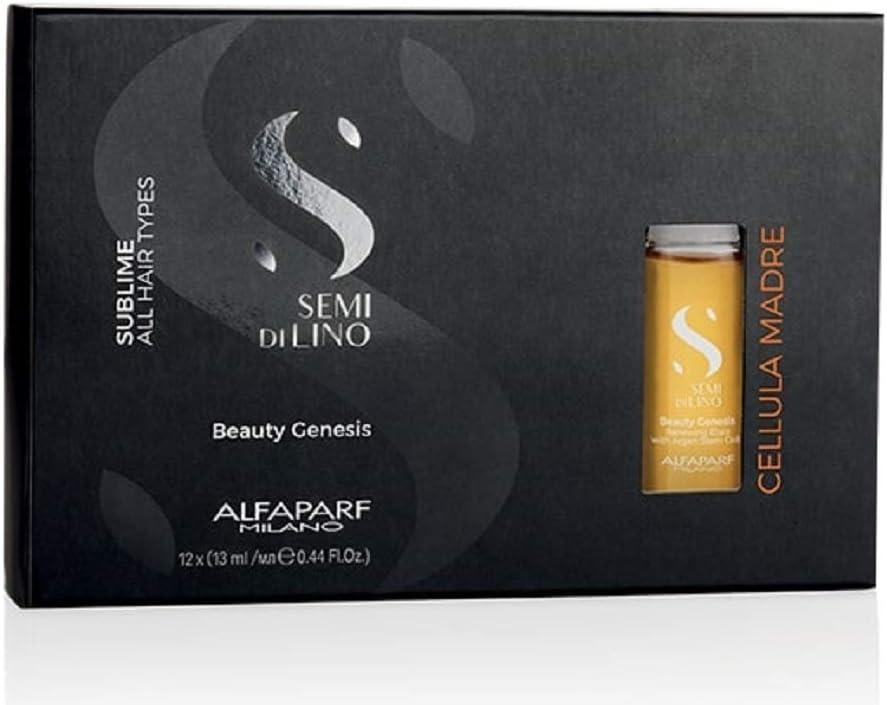 Alfaparf Semi di lino Cellula madre Beauty genesis 12x13ml - elixir renovador