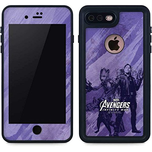 Guardians Of The Galaxy Iphone 8 Plus Case   Guardians Of The Galaxy Chroma   Marvel   Skinit Waterproof Case