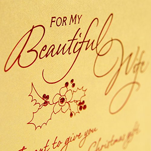 Hallmark Mahogany Christmas Greeting Card for Wife (I Want to Give You) Photo #4