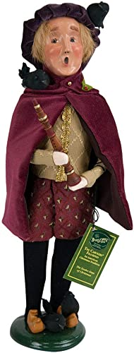 Byers Choice 4 Calling Birds Caroler Figurine 734 from The 12 Days of Christmas Collection