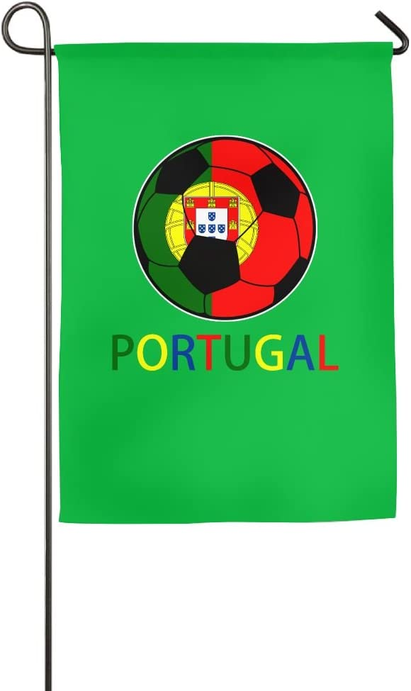Portugal Soccer Garden Flag House Banner - 12 X 18 Inch|18 X 27 Inch