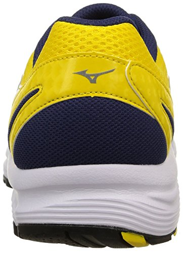 Mizuno Crusader 9, Men's, Multi (Lemon/Silver/Medieval Blue) Multi (Lemon/Silver/Medieval Blue)