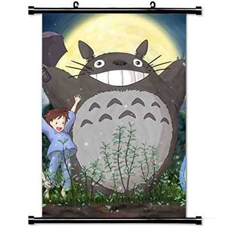 Home Decor Cute Anime Art Cosplay Poster With Ghibli My Neighbor Totoro Mei  Satsuki Totoro Forest