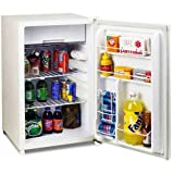 Appliances : Avanti AVARM4406W Refrigerators, Door Bins, Freezer Compartment, Energy Star, 4.4 cubic feet