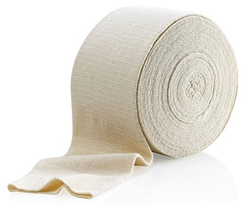 Elastic Tubular Support Bandage Size F, 10M Box - Natural Color (4