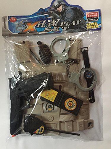 POLICE PLAY KIT; (7 pc)