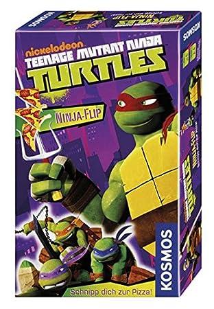 KOSMOS Teenage Mutant Ninja Turtles - Ninja-Flip - Juego de ...