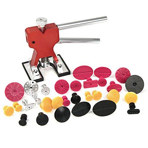 Dent Puller Kit Furuix 56pcs PDR Tools Paintless Dent Repair Glue Dent Repair Dent Removal Tools PDR Kit by Furuix (Image #1)