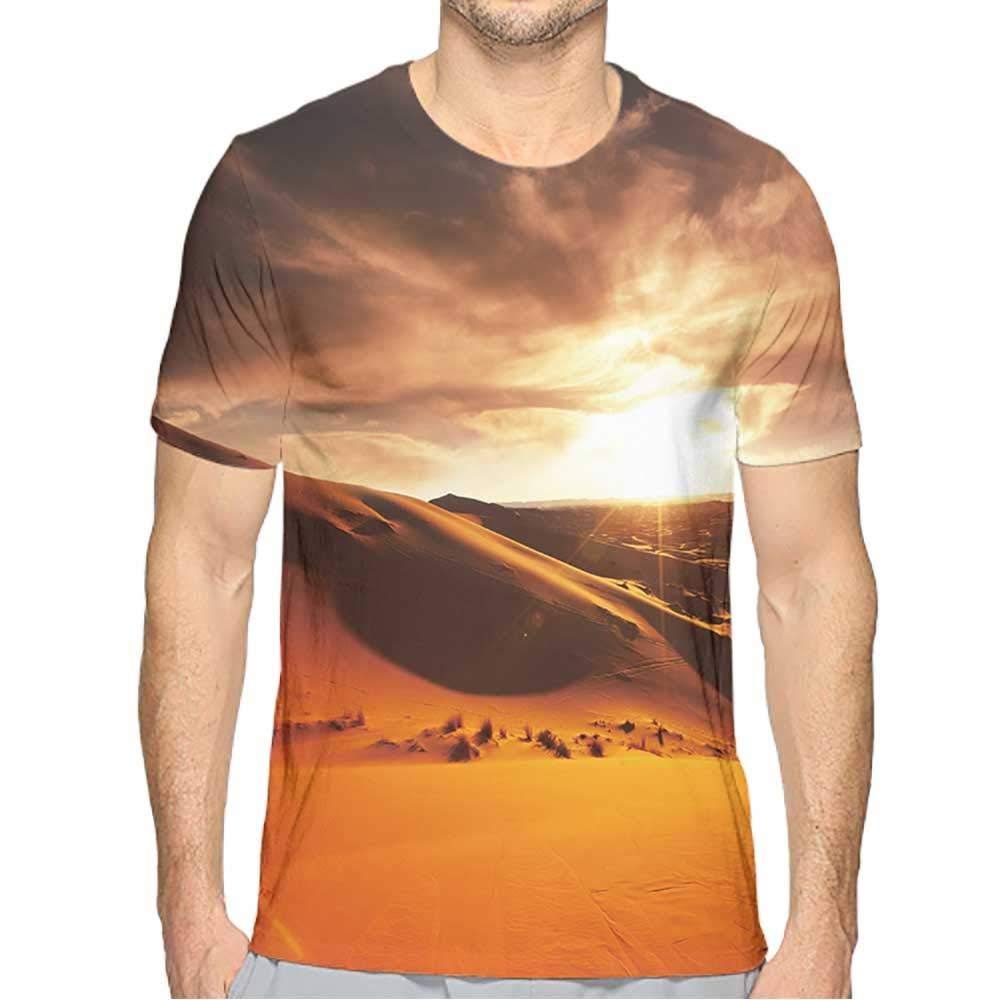 Athletic fit T-Shirt Men Fashion Mens 3D Top Tees