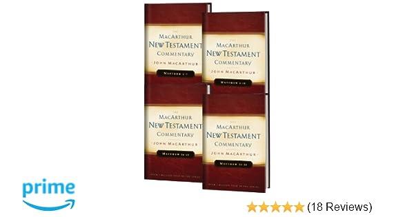 Matthew 1 28 4 volume set macarthur new testament commentary matthew 1 28 4 volume set macarthur new testament commentary series john macarthur 9780802408198 amazon books fandeluxe Images