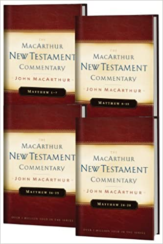 Matthew 1 28 4 volume set macarthur new testament commentary matthew 1 28 4 volume set macarthur new testament commentary series fandeluxe Choice Image