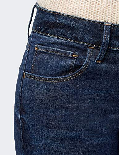 star 89 invecchiato Mid Jeans l32 3301 W28 G Wmn Deconst Raw Femme Skinny Bleu dk 5CCwA7qx