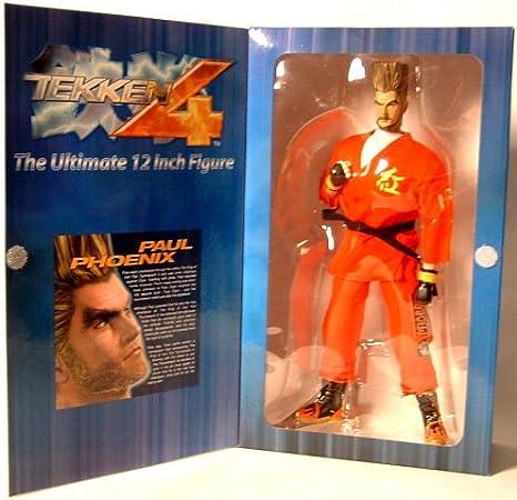 Amazon Com Tekken 4 Ultimate 12 Inch Figure Paul Phoenix Toys