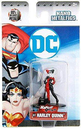 DC Harley Quinn (DC17) 1.5 Inch Diecast Nano Metal Figure by - Quinn Harley Shop