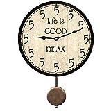 Personalized Five O'Clock Somewhere Pendulum Clock