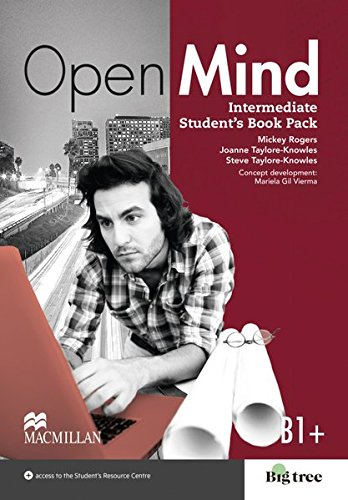 Open Mind: Intermediate / Student's Book with Webcode (incl. MP3) and Print-Workbook with Audio-CD + Key
