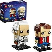 LEGO Brickheadz Marty Mcfly e Doc Brown Set Costruzioni, 41611