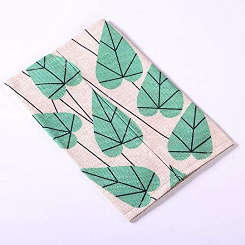 (Souliyan Decorative Napkin Box Cover Decorative Tissues Napkins Container Printing Facial Tissue Refill Holder (Color : T020) )