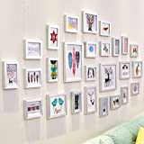 ZPQ Photo Wall ALUK living room large wall photo frame wall/wall photo frame wall combination/simple modern 26 box 159 * 90cm (Color : 9)
