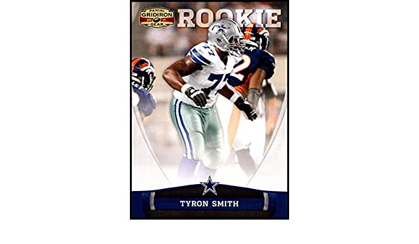 d01d0f8bc Amazon.com: 2011 Panini Gridiron Gear #214 Tyron Smith NM-MT RC Dallas  Cowboys Official NFL Football Card: Collectibles & Fine Art