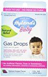 Hyland's Baby Gas Drops, Natural Gas Discomfort and Pain Relief, Natural Grape Flavor, 1 Ounce