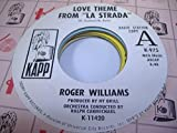 ROGER WILLIAMS 45 RPM Love Theme From