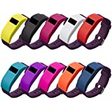 Fitbit Charge HR Band Cover with Anti Dust Plugs, BeneStellar 10-Pack Band Cover Case for Fitbit Charge / Fitbit Charge HR Slim Designer Sleeve Protector accessories