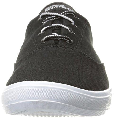 Womens Prestazioni Skechers Vanno Vulc 2 Definitiva Racchette Nero / Bianco