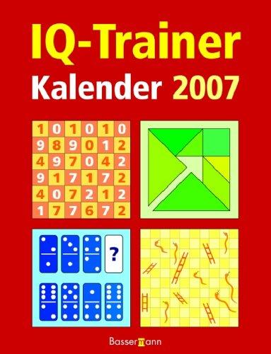 IQ-Trainer Kalender 2007.