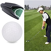 Golf Automatic Putting Cup Indoor Golf Putting Hole Golf Putt Cup Auto Returning Golf Cup Practice Training Cup Training Aid For Golf Practice For Indoor Outdoor Yard Office