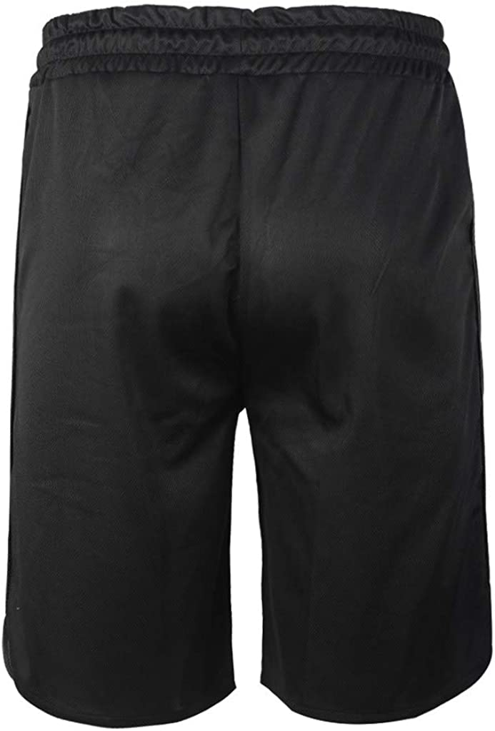Dainzusyful Mens Gym Workout Boxing Shorts Running Short Pants Fitted Training Bodybuilding Jogger Short with Pockets