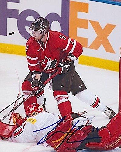 ZACK KASSIAN Signed TEAM CANADA/BUFFALO SABRES 8X10 PHOTO #2 - Autographed NHL Photos (Buffalo Signed Sabres Nhl Photo)