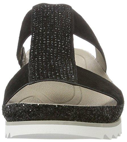 Gabor Shoes Fashion, Mules para Mujer Negro (schwarz Glitter)