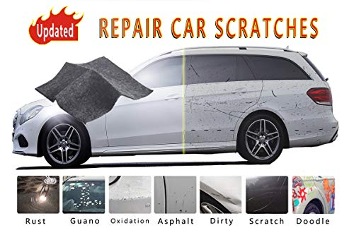 - LODY Car Scratch Remover Cloth, Upgraded Version Scratch Removal for Cars, Nano Technology to Repair Car Scratches and Car Surface Polishing, Used for Light Paint Scratch Remover to Repair Scratches