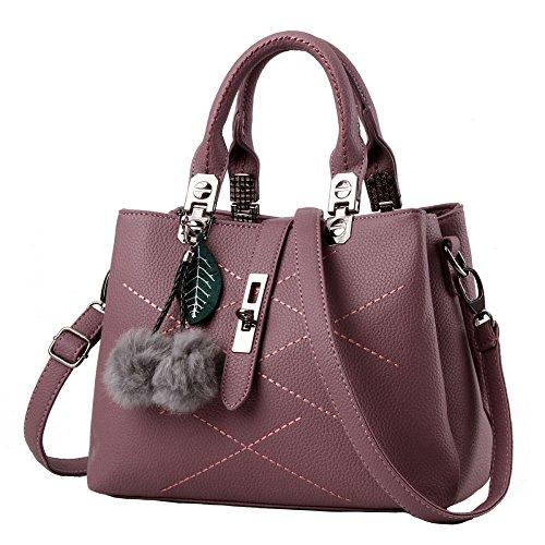 13 Pink De Coreanas Bolsas Handbags Exterior 21cm El Un para De Comercio Purple 29 Hombro Explosion Ladies Diagonal Solo YXLONG Ocio Paquete TqWHw4xFF