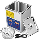 FoodKing Ultrasonic Cleaner 2L Industrial Ultrasonic Cleaner with Digital Heater Commercial Ultrasonic Cleaner