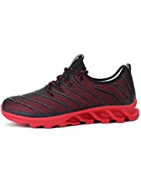 """<span class=""""a-offscreen"""">[Sponsored]</span>Men's Athletic Running Sports Shoes Mesh Breathable Fashion Sneakers By JiYe"""