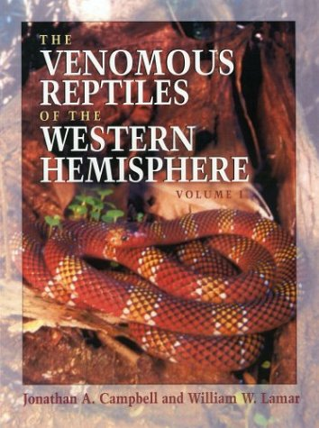 The Venomous Reptiles of the Western Hemisphere, 2 Vol. Set (Comstock Books in Herpetology)