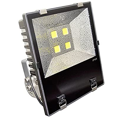 400W LED Flood Light Fixture with Philips LED 5500K DayLight Replace 1000W HPS (High Pressure Sodium) or MH (Metal Halide) bulb Waterproof IP65 120° Beam Angle 110-277v Instant On