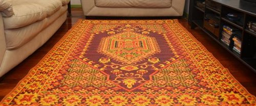 Mad Mats 174 Oriental Turkish Indoor Outdoor Floor Mat