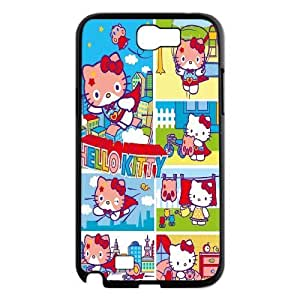 JamesBagg Phone case Hello Kitty Pattern Protective Case For Samsung Galaxy Note 2 Case Style 5
