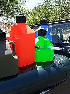 Dos 5 galones Gas jarras | Heavy Duty contenedores de ...